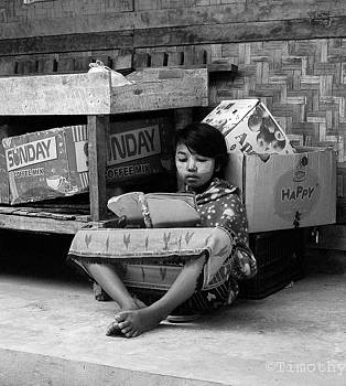 Reading in Burma by Timothy Leonard