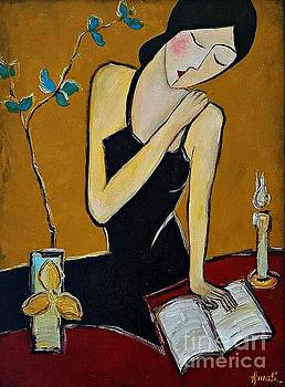 Reading_1 by Amalia Suruceanu