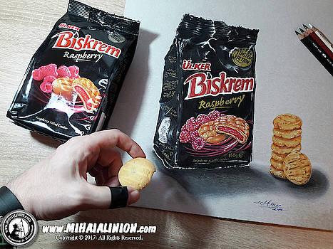 Realistic Biskrem Illustration by Mihai Alin Ion