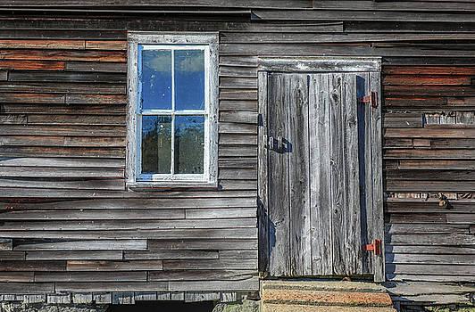 Rear Barn Door by Jim Gillen
