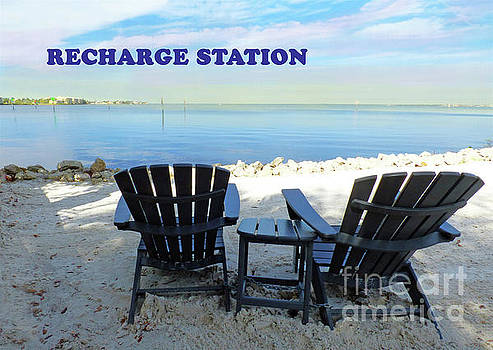 Sharon Williams Eng - Recharge Station Beach Poster