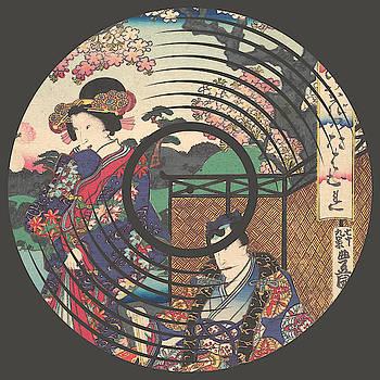 Record Album Vinyl LP Asian Japanese Flowers by Tony Rubino