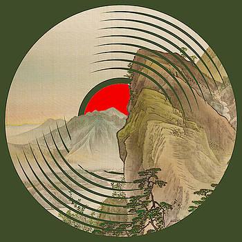 Record Album Vinyl LP Asian Japanese Mountain by Tony Rubino
