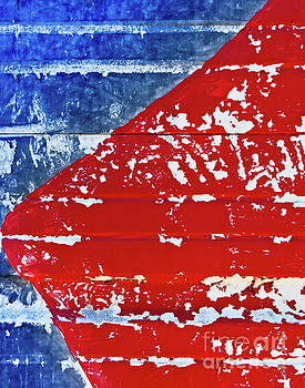 Red and Blue by Patti Schulze