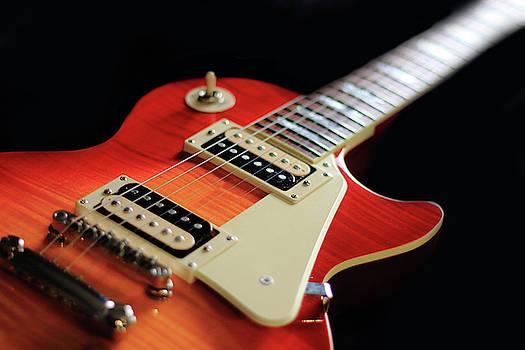 Angela Murdock - Red and Orange Guitar
