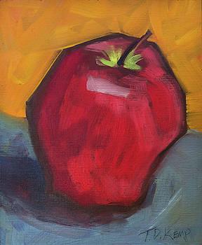 Red Apple 1 by Tara D Kemp