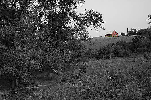 Red Barn Hill by Dylan Punke