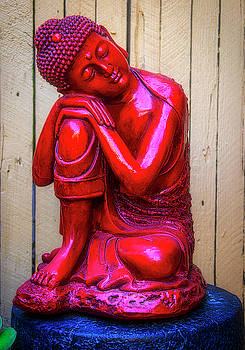 Red Buddha Dreaming by Garry Gay