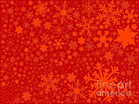 Red Christmas Blast Background by Bigalbaloo Stock