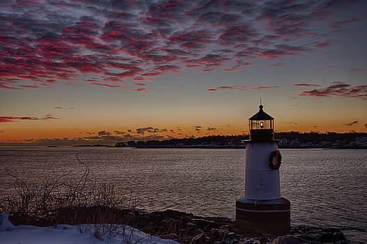 Red Dawning Sailors take Warning by Jeff Folger