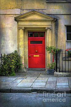 Red Door by Jill Battaglia