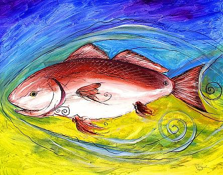 Red Fish by J Vincent Scarpace