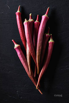 Red okra by Cuisine at Home