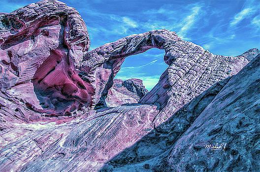 Red Rock Bridge by Michael J Connor