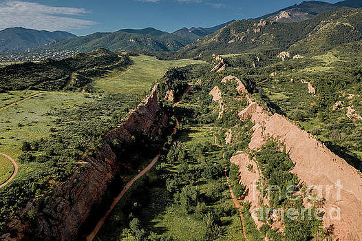Red Rock Canyon Open Space by Steven Gray