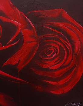 Red Roses part 2 by Lin Petershagen