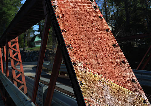 Red Rust Bridge by Maggy Marsh