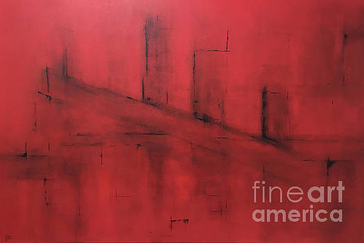 Red Scape by Pamela Canzano