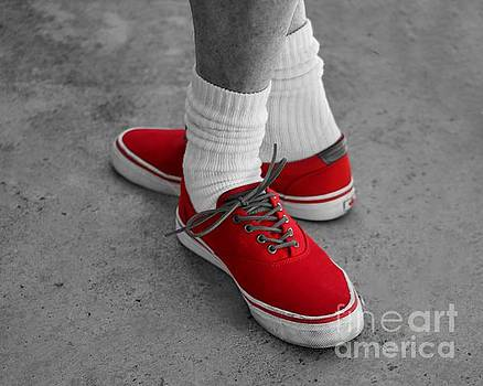 Red Shoes by Stacey Brooks