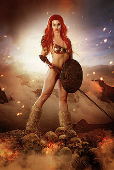 Red Sonja by Susan Gerardi