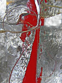 Red Straw in the Ice by Sarah Loft