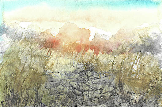 Red Sunrise by Jill Williams