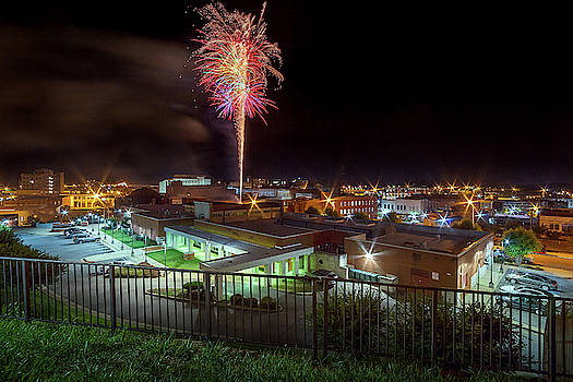Red White and Bristol Block Party Fireworks by Greg Booher