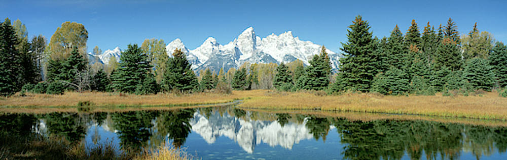 Reflection Of Mountains In Water, Grand by Panoramic Images