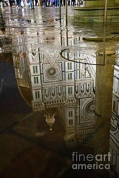 Wayne Moran - Reflections el Duomo The Florence Italy Cathedral