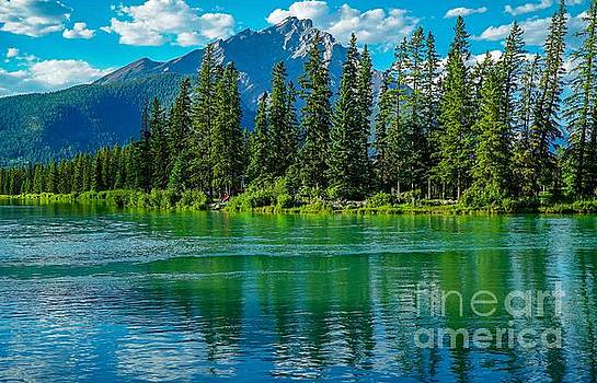 Reflections of Banff by Susan Rydberg