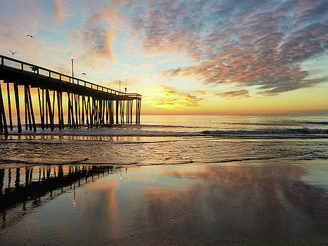 Reflections Of Dawn by Robert Banach