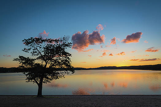 Reflections on a Sunset by John Wilkinson
