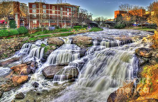 Reid Callaway - Relentless Reedy River Falls Park Greenville South Carolina Art