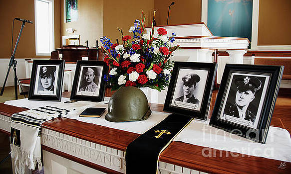 Remembering the Four Chaplains by Anita Faye