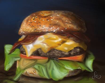 Renaissance Burger  by Fe Jones