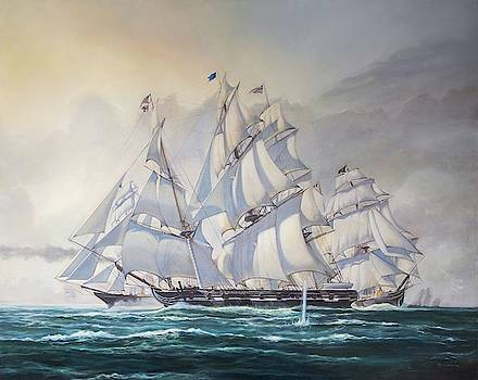 Replica of a B.E.Roberts oil by Laura Balboni Craciun