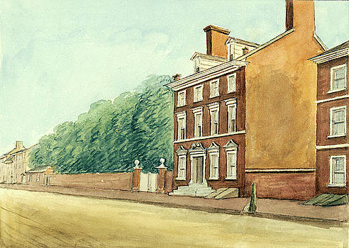 Residence of Washington in High Street by William Breton
