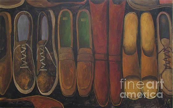 Resting Soles by Glenn Quist