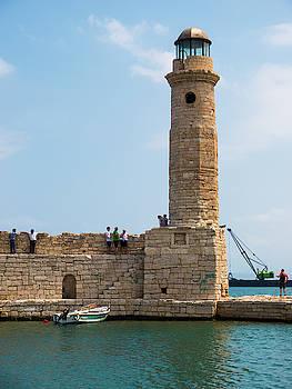 Rethymno Lighthouse by Rae Tucker