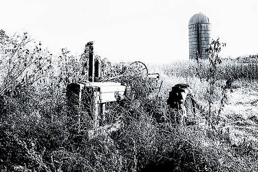 Retired John Deere Tractor 1 by Jim Thompson