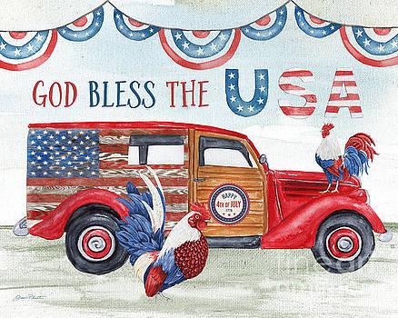 Retro Car USA by Jean Plout