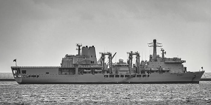 RFA Fort Victoria by Chris Day