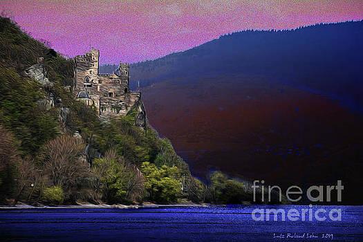 Rheinstein Castle by Lutz Roland Lehn
