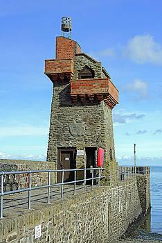 Rhenish Tower and Quay - Lynmouth - Devon by Rod Johnson