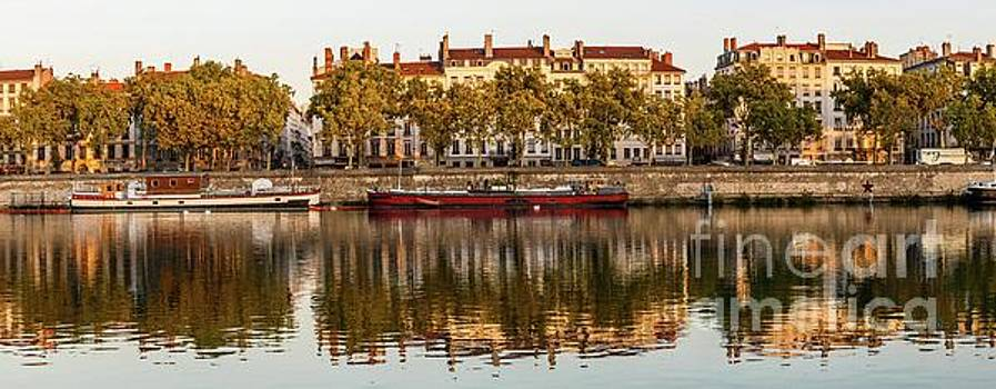 Rhone Morning Panorama by Thomas Marchessault