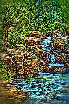 Rhythm Of The Waterfalls by Joel Bruce Wallach