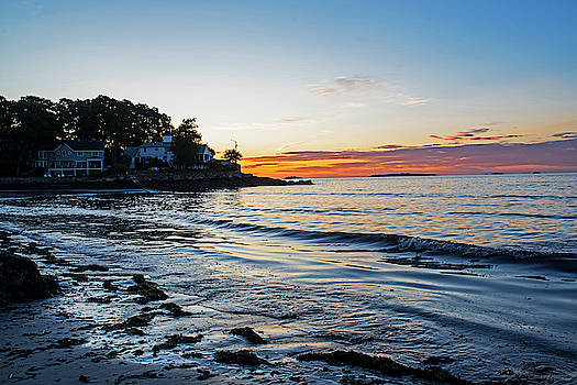 Toby McGuire - Rice Beach Sunrise Beverly MA Smooth Water
