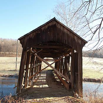 Rickety Covered Bridge by Diane Schuler