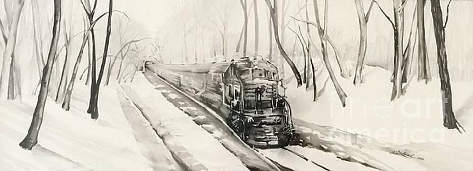 Ridin the Rails by Laurel Adams