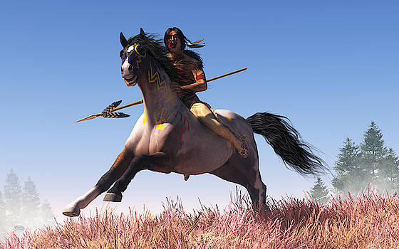 Riding Off to War by Daniel Eskridge